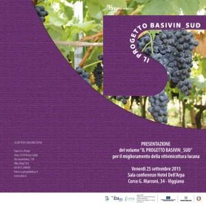 Cartoline di invito Convegno Basivin Viggiano